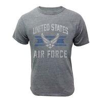 Us Air Force T-shirt Grey Vintage Veteran Usaf Symbol Logo Vet Pt Work Out