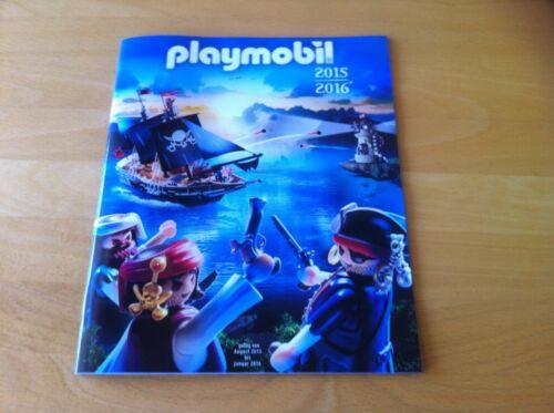 1 x ein NEUER Katalog August 2015 - Januar 2016 mit Playmobil Sache Sammlerstück