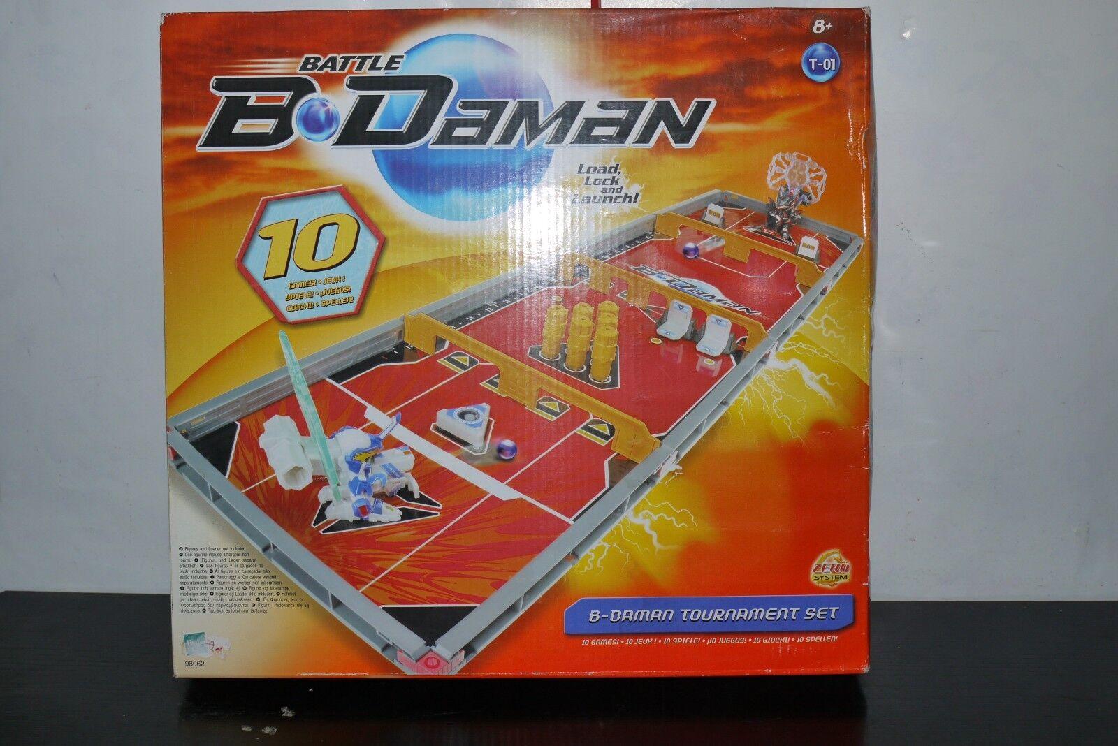 battle B DAMAN 10 GAME FAMILY TOURNASieT SET HASBRO 2005 98062 MIB