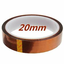 20mmx33m 100ft High Temperature Heat Resistant Polyimide Kapton Tape printer&BGA