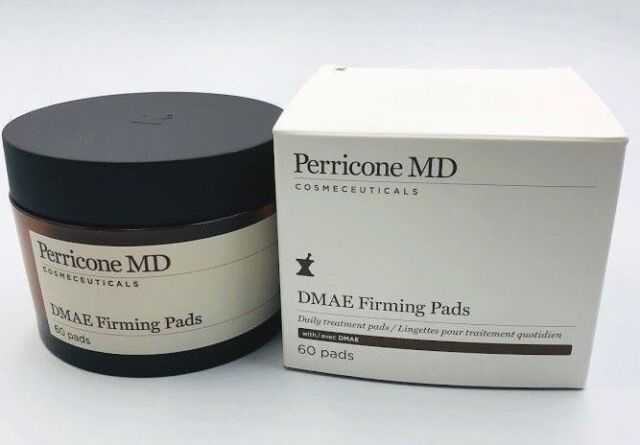 Perricone MD DMAE Firming Pads 60 Count New in Box Daily Treatment Pads Fresh