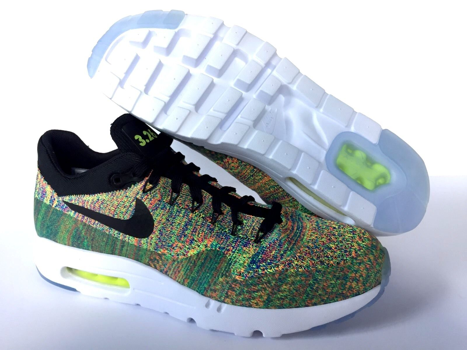 NIKEiD AIR MAX 3.26 BRAND NEW BLACK MULTICOLOR  US SZ 9.5