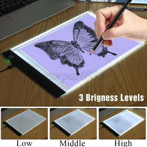 Kit-LED-Planche-a-dessin-Tablette-ultra-mince-copie-Lumiere-A4-reglable