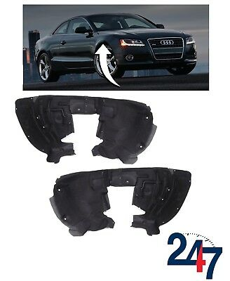NEW AUDI A4 B8 2008-2011 FRONT WHEEL ARCH PLASTIC COVER TRIM PAIR SET LEFT RIGHT