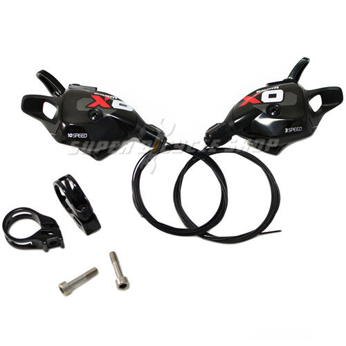 SRAM X0 X.0 Trigger Shifter 3X10 Speed ,  Left and Right , Red  ultra-low prices