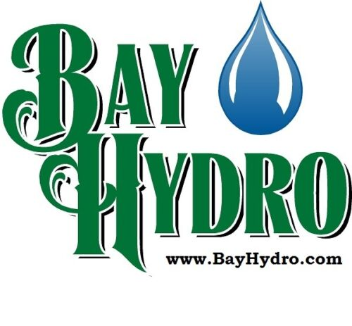 "Flow Bulk-Head Fittings SAVE $$ W// BAY HYDRO 10pc GROW1 1/"" Fill Drain Ebb"