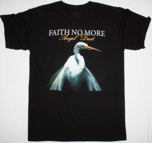 FAITH NO MORE ANGEL DUST MENS BLACK T SHIRT MIKE PATTON MR.BUNGLE FANTOMAS