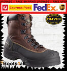 New Oliver AT's Men's Mining Work Boots Safety Steel Toe Lace Up AU Size 65390