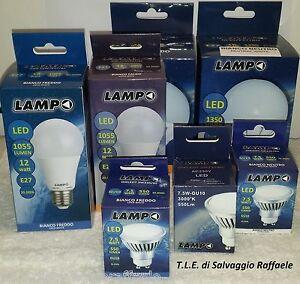 Lampadine globo a led lampo e27 goccia12w e globo16w 24w for Lampadine led faretti