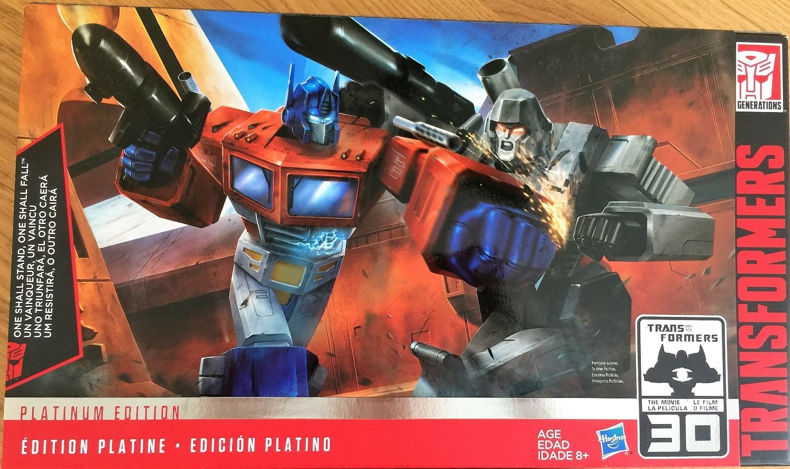PLATINUM EDITION Transformers ONE SHALL STAND ONE SHALL FALL Hasbro Generations