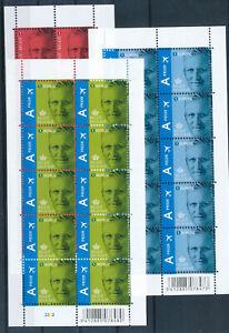 B67-Belgique-2013-N-4369-71-Serie-complete-de-3-Feuillets-de-10-Timbres