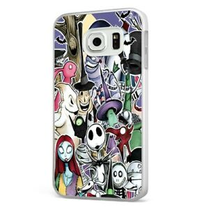 Nightmare Before Christmas Phone Case.Details About Collage Nightmare Before Christmas White Phone Case Cover For Samsung Galaxy