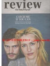 GILLIAN ANDERSON JAMIE DORNAN Daniel Radcliffe CANDY STATON Review Mag 1 Nov 14