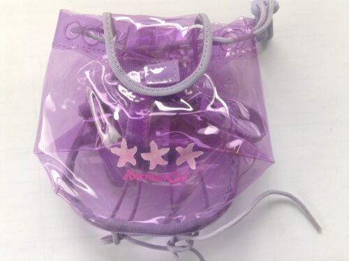 American Girl Doll 2002 Retired Beach Accessories Purple Backpack Bag ONLY