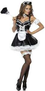 FEVER-FLIRTY-FRENCH-MAID-FANCY-DRESS-COSTUME-LADIES-FRENCH-SEXY