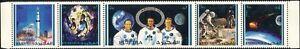 FUJEIRA-1971-APOLLO-14-Atterraggio-sulla-Luna-astronauti-spazio-striscia-di-razzi-5v-s2835q