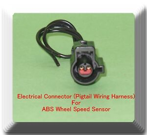 Details about Connector of ABS Wheel Sd Sensor ALS512 Front L/R Fits: on