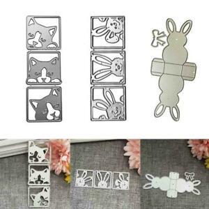 Mini Bird Metal Cutting Dies Stencils DIY Scrapbook Album C Embossing Craft S4E5
