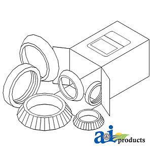 john deere parts wheel bearing kit wbkjd1 730 720 70 630 w Bobcat S530 image is loading john deere parts wheel bearing kit wbkjd1 730