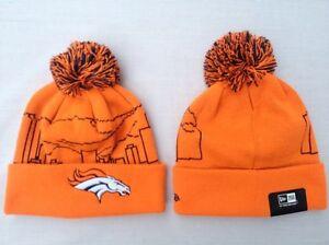NEW NFL Denver Broncos Men s New Era Skyline Wrapz Cuffed Beanie ... 8e75d4f5382