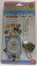 BANDAI Tamagotchi ID L PS LED Color Plastic Crystal Stickers + Neck Strap WHITE