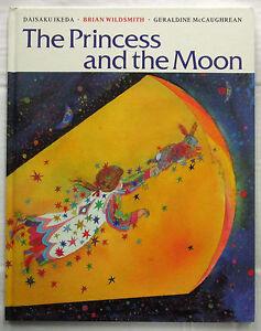 The-Princess-and-the-Moon-Ikeda-amp-Brian-Wildsmith-1st-UK-Ed-HC-1991-Very-Good