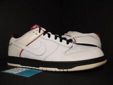 pretty nice 64e5d 31837 2006 Nike SB DUNK LOW CL AIR JORDAN II 2 RETRO WHITE BLACK RED 304714-