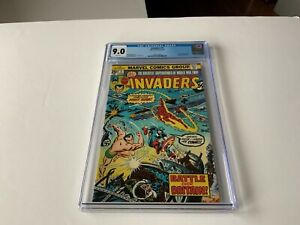 INVADERS-1-CGC-9-0-WHITE-PAGES-CAPTAIN-AMERICA-SUB-MARINER-MARVEL-COMICS-1975-ZZ