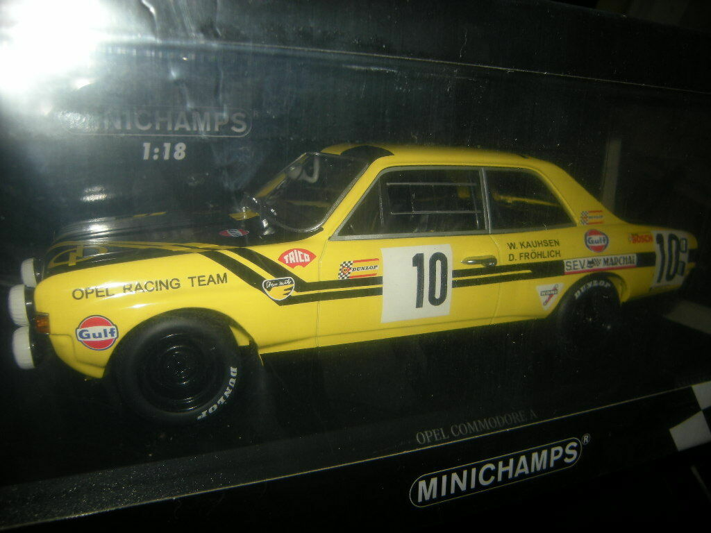 1 18 Minichamps Opel Commodore A Steinmetz 24 H H H Spa 1970 nº 155704610 in neuf dans sa boîte c0c96b