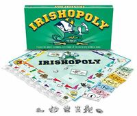Late For The Sky University Of Notre Dame Monopoly , New, Free Shipping on sale