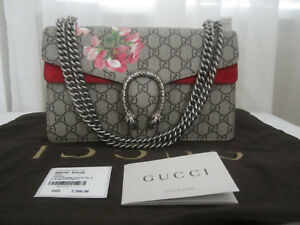 161f5b30786 Gucci Dionsysus GG Blooms Print In GG Supreme Canvas Chain Bag (2300 ...