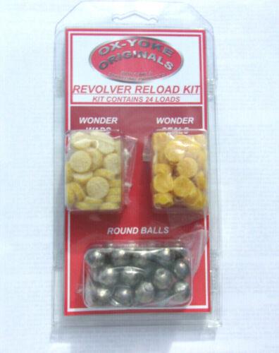 Revolver Reload Kit .44 Blackpowder Fits Pietta Uberti /& Many More
