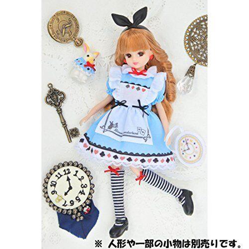 TAKARA TOMY Licca Chan Dress Rika-chan LW-14 Licca chan in Wonderland New
