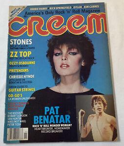 November-1981-Creem-PAT-BENATAR-ZZ-Top-Rolling-Stones-Bruce-Springsteen-more