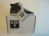 Frye Kira High Top Leather Sneakers