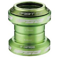 FSA Orbit MX EC 1 1/8 Threadless Headset- Green