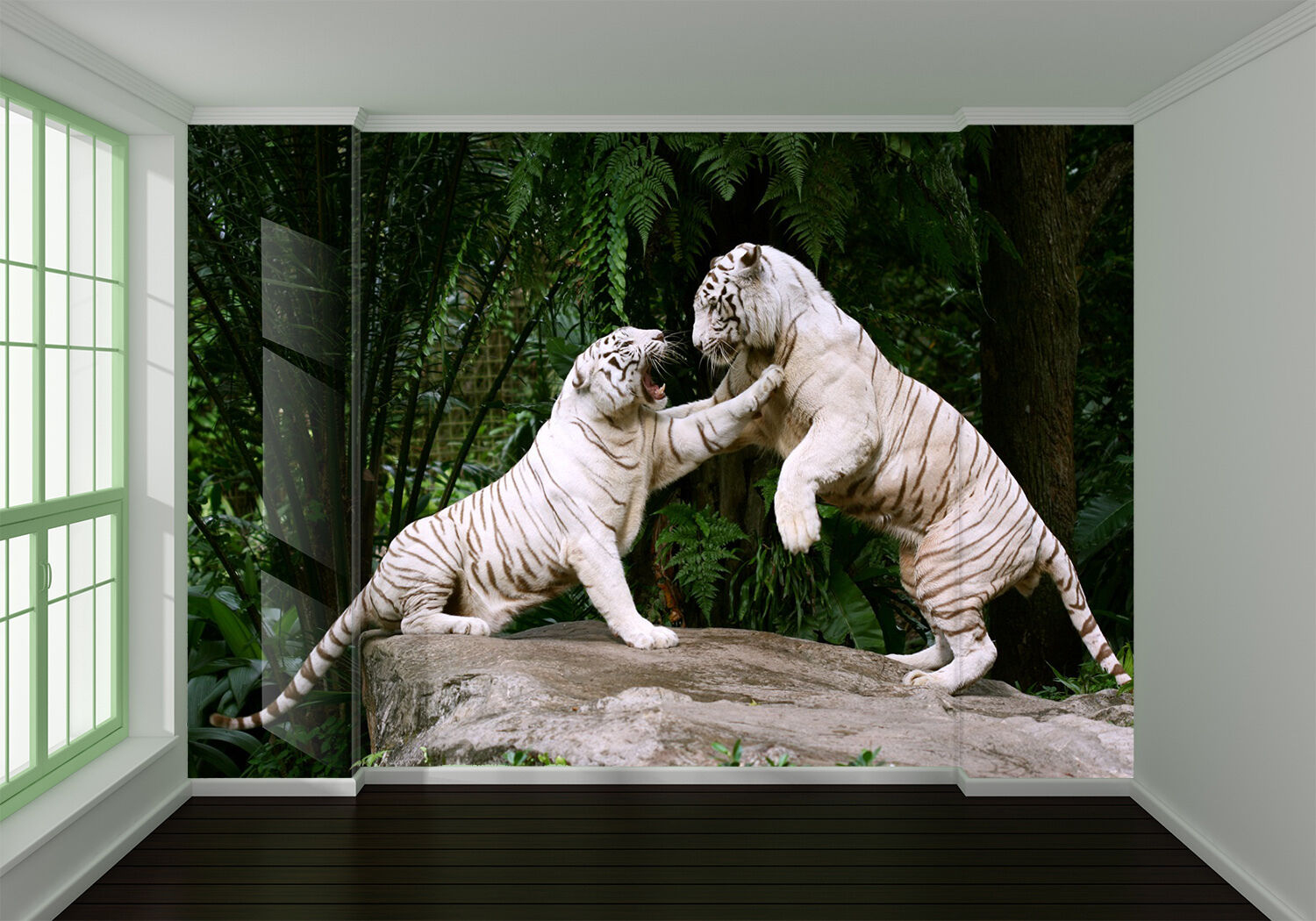 3D Store Weiß Tiger 994 Wall Paper wall Print Decal Wall Deco Indoor wall Mural