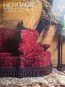 Heritage Fine Decorative Arts Auction Catalog Painting Furniture Sculpture 2018 Ebay