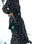 Zara-Black-Polka-Dot-Print-Flowing-Dress-Size-S-M