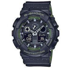 Casio G-Shock X-Large 3-Eye Military Black Ana-Digital Men's Watch GA100L-1A