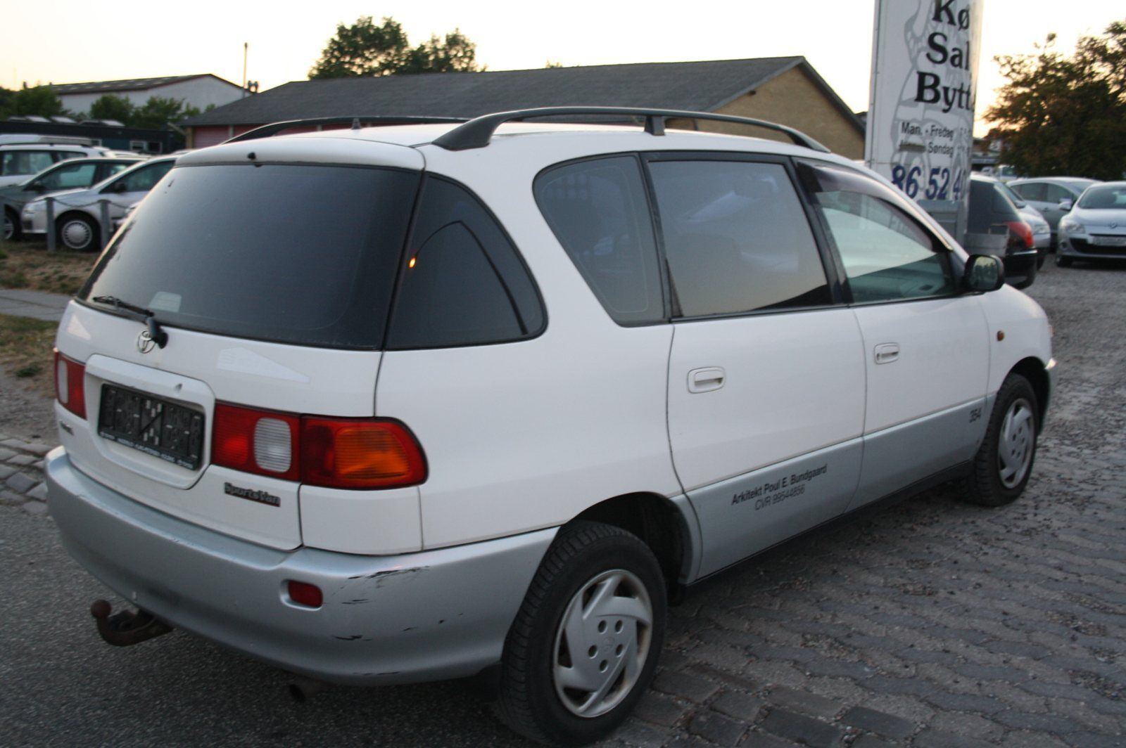 14d903682dd151 Brugt Toyota Sportsvan 2,0 B til salg - Bilbasen