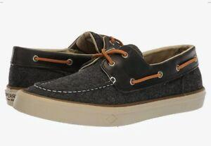 Eye Wool Boat Shoes Grey Wool 11.5 M