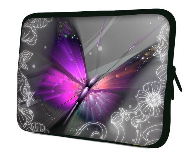 c69a3a0b03a7 Luxburg Design Laptop Notebook Sleeve Soft Case Bag Cover. #1 FLASHY  Butterfly 12