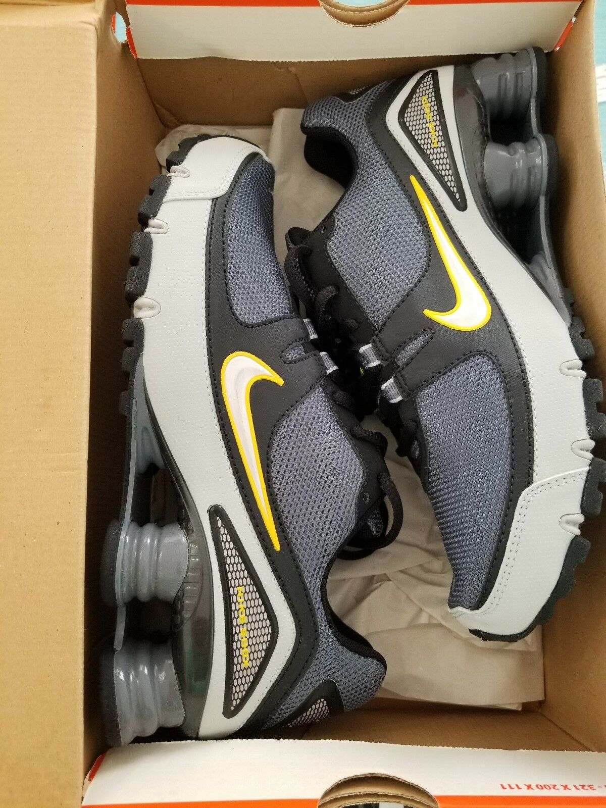 Mens Nike Shox Turbo V+ Size 7 New