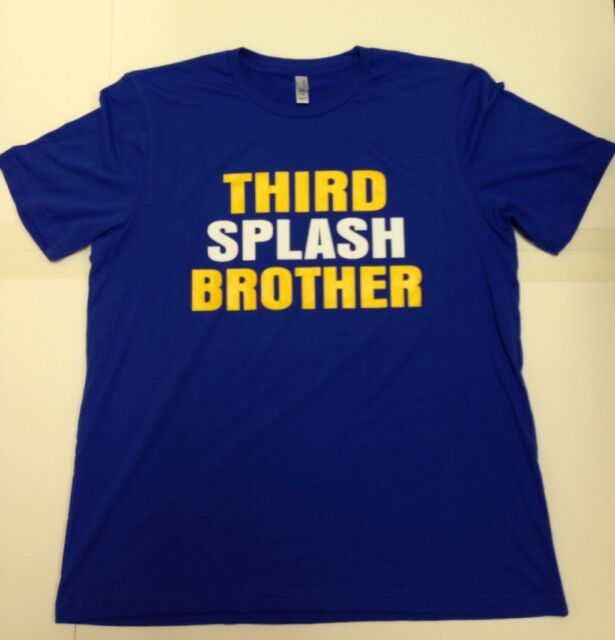 sports shoes e2859 df97e Golden State Warriors Steph Curry Klay Thompson Third Splash Brothers Shirt