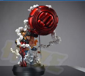 Anime-One-Piece-Monkey-D-Luffy-Gear-Fourth-GK-figura-estatua-nuevo-50cm