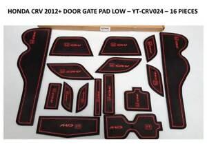 Honda Crv 2012 - 2015 Intérieur Tableau De Bord Tapis Gate Pad Trim Set-afficher Le Titre D'origine Dans La Douleur