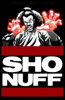The Last Dragon Sho Nuff SHONUFF **CUSTOM OLD SKOOL ART** Mens Shirt W/ OPTIONS*