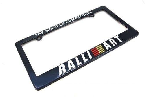 X1 RALLIART License Plate Frame For MITSUBISHI LANCER EVOLUTION 7 8 9 X GALANT