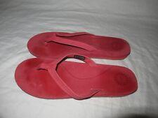 5a80723879e Women's UGG Kayla Casual Black Nubuck Flip Flop Sandals 1000137 Size ...